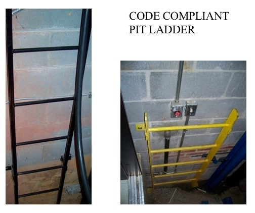 Code Compliant Pit Ladder